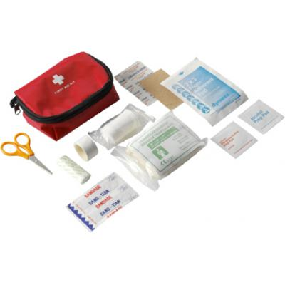 Image of First aid kit in a nylon pouch