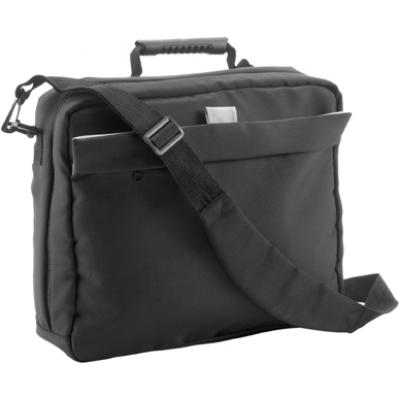 Image of Polyester (1680D) laptop/document bag (14')