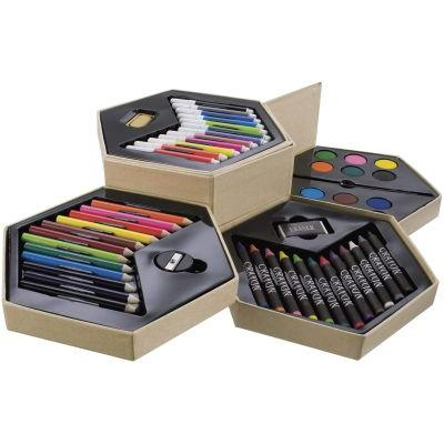 Image of 52 piece colouring set