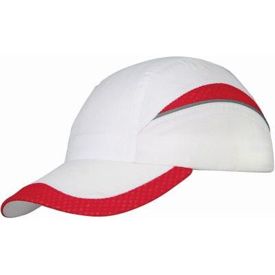 Image of Qualifier 6 panel mesh cap