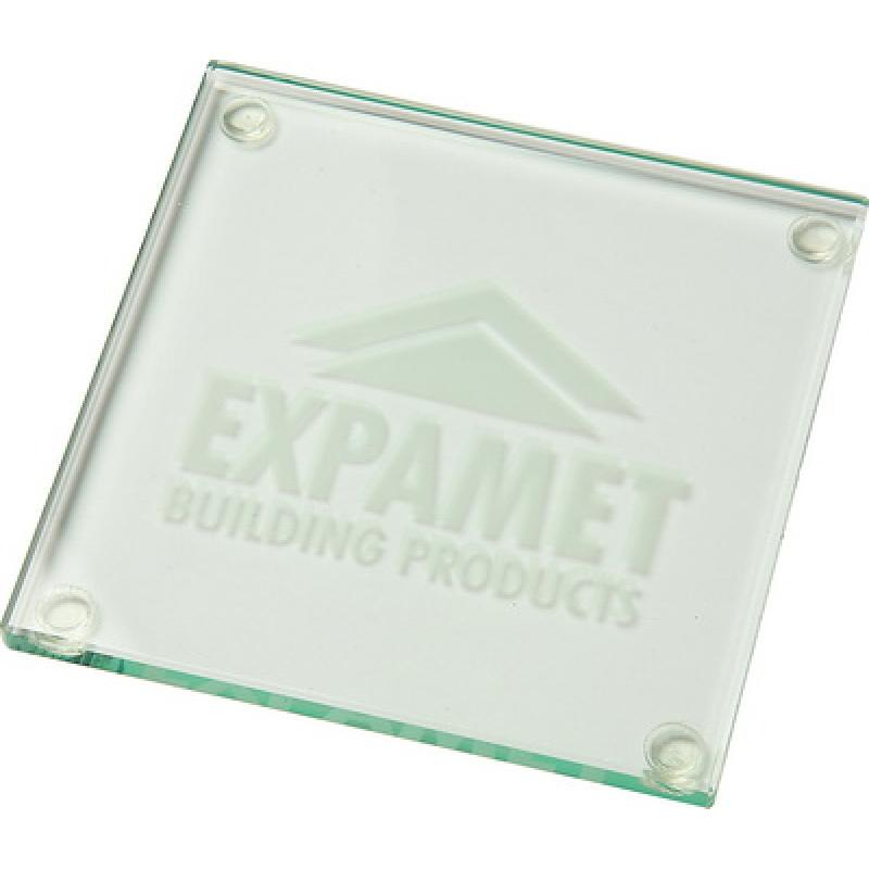 Image of Jade Glass Square Coaster