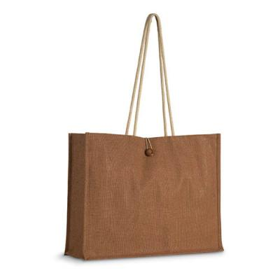 Image of Jute shopper bag w/ handles