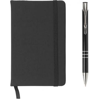 Image of Notebook and ballpen set.