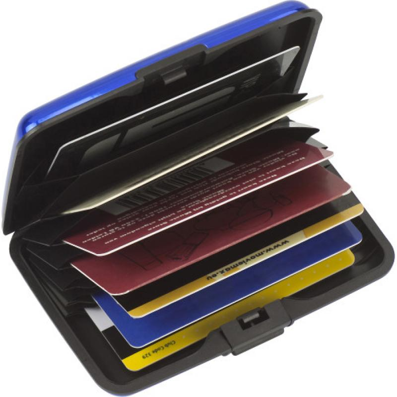 Image of Aluminium and plastic credit/business card case