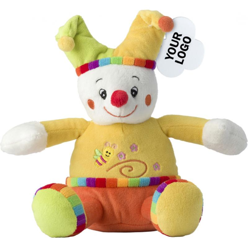 Image of Clown plush toy
