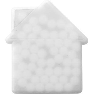 Image of House shaped mint card