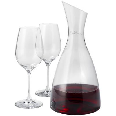 Image of Prestige decanter with 2 wine glasses