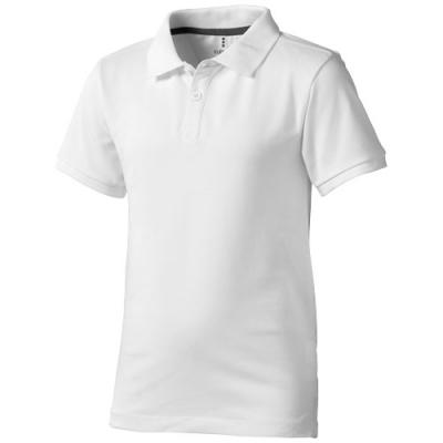 Image of Calgary short sleeve kids polo