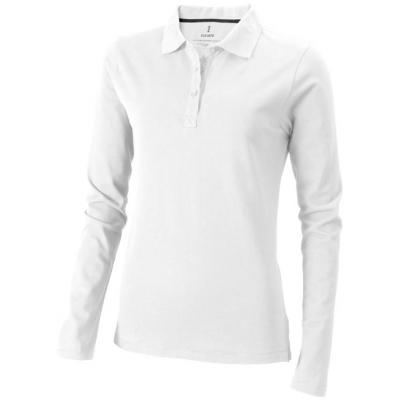 Image of Oakville long sleeve ladies polo