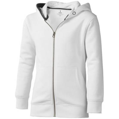 Image of Arora hooded full zip kids sweater