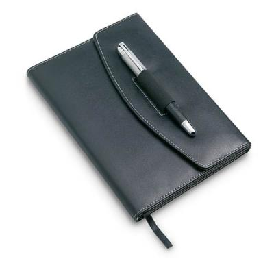 Image of Notebook with ball pen