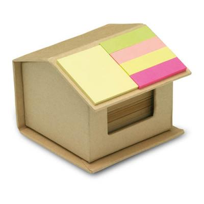 Image of Recycled carton sticky notes