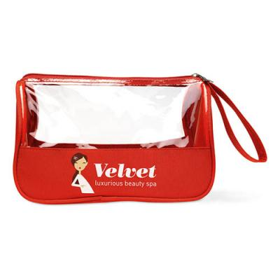 Image of Toiletry bag microfiber w PVC