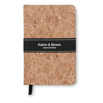 Image of A6 notebook cork covered