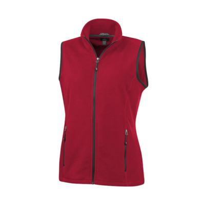 Image of Tyndall micro fleece ladies Bodywarmer