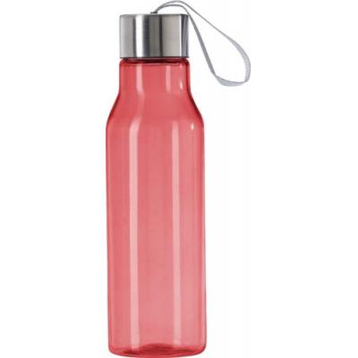 Image of Transparent plastic drinking bottle (550 ml)