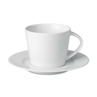 Image of Cappuccino cup and saucer