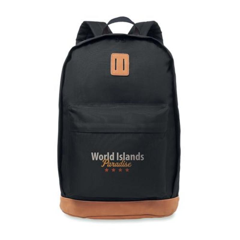 Image of Backpack 1000D with PU leather