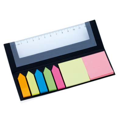 Image of Ruler Sticky Notepad Holder Hensa