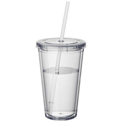 Image of Cyclone insulated tumbler and straw