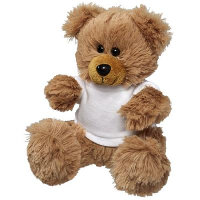 Image of Plush Sitting Bear with Shirt