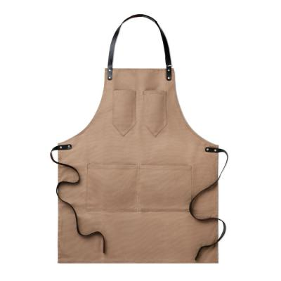 Image of Apron in leather