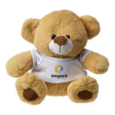 Image of Plush Teddy Bear with T-Shirt 6.5""