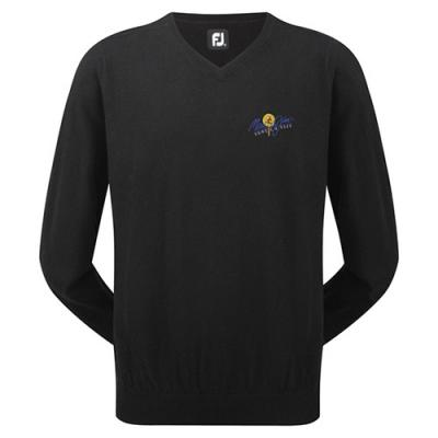 Image of FJ (Footjoy) Gents Lambswool V Neck Pullover