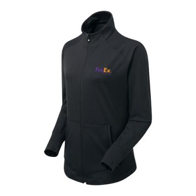 Image of FJ (Footjoy) Ladies Full Zip Brushed Chill Out Jacket/top