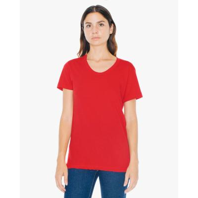 Image of Ladies Polycotton Crew Neck T Shirt