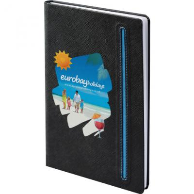 Image of Denim Black Notebook