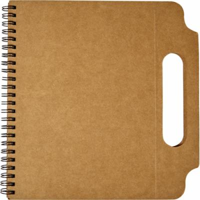 Image of Cardboard notebook (A5)