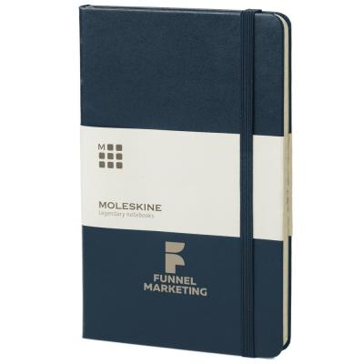 Image of Moleskine Classic Medium Hard Cover Notebook - Ruled