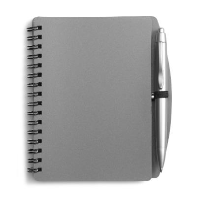 Image of A6 Wire bound notebook and ballpen