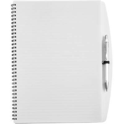 Image of A4 Wire bound notebook and ballpen