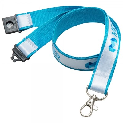 Image of 25mm Printed Satin Applique Lanyard