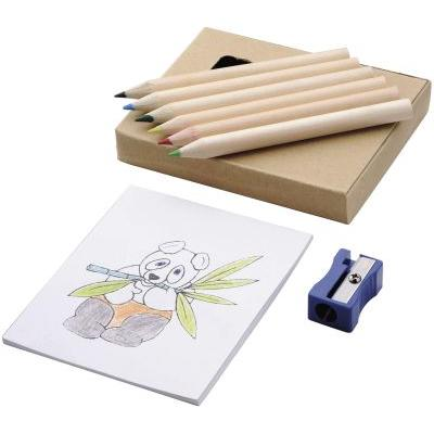 Image of 8 piece colouring set
