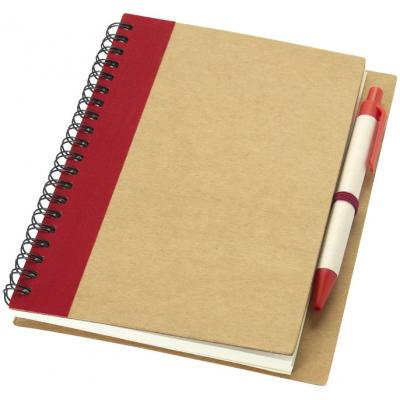 Image of Priestly notebook and pen