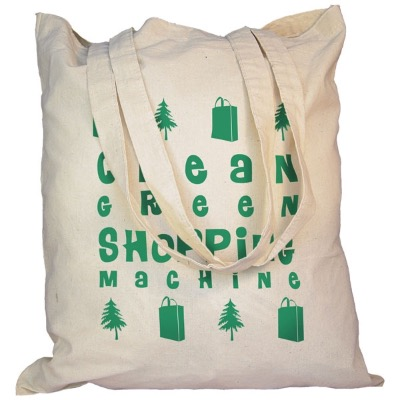 Image of Cotton Shopper Bag