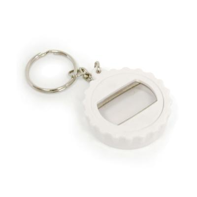 Image of Bottle Lid Opener Plastic Bottle Opener Keyring