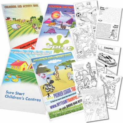 Image of A5 Colouring Booklets