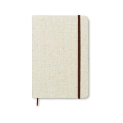 Image of A5 notebook canvas covered