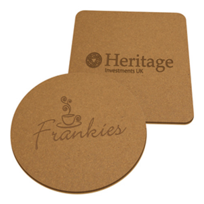 Image of Eco Natural Leather Coaster
