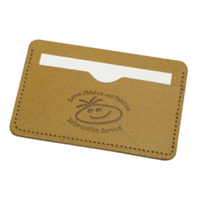 Image of Eco Natural Business Card Wallet