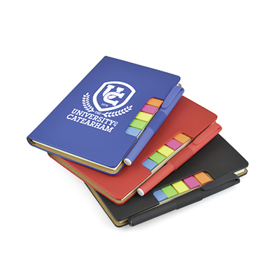 Image of Notebook flag and pen set