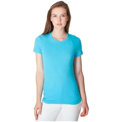 Image of Ladies Fine Jersey Tee Shirt