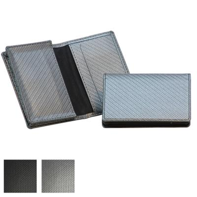 Image of Carbon Fibre Textured Business Card Dispenser