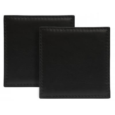 Image of Sandringham Nappa Leather Square Coaster