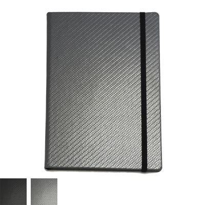 Image of Carbon Fibre Textured A5 Casebound Notebook