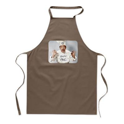 Image of Kitchen apron in cotton
